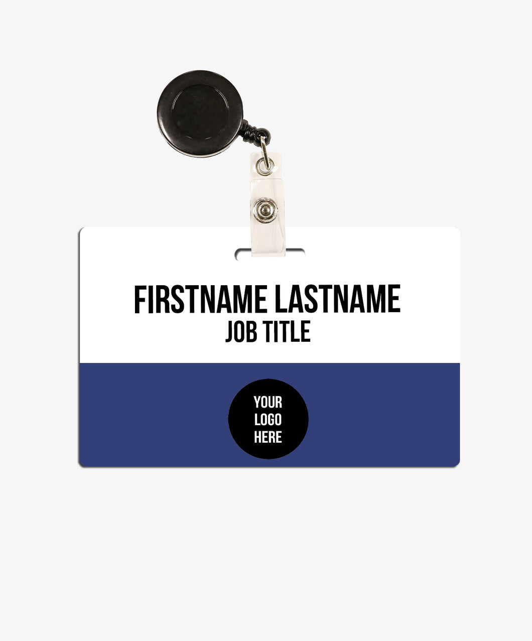 Color Block Name Badge - BadgeSmith