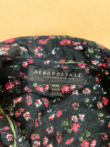 AEROPOSTALE Patterned Shirt | MED