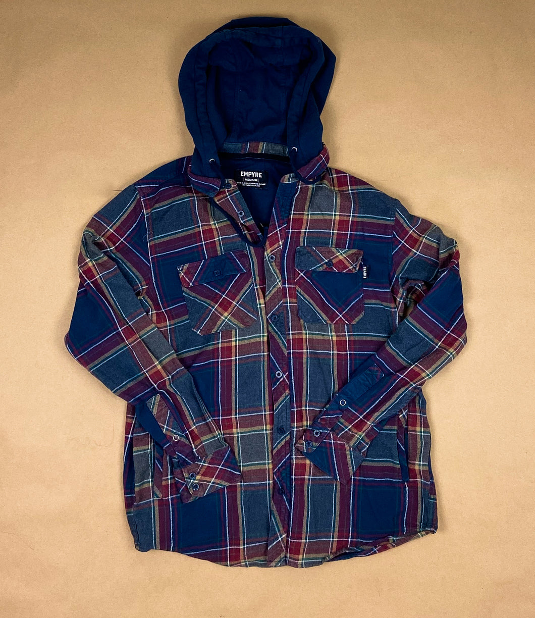 EMPYRE Hooded Flannel | MED