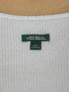 Wild Fable Crop Top | SML