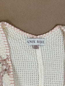 Knox Rose Knitted Poncho