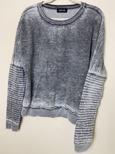 Load image into Gallery viewer, Ribbed-Sleeve Sweatshirt
