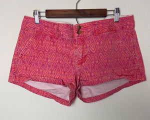 Patterned Denim Shorts | 12