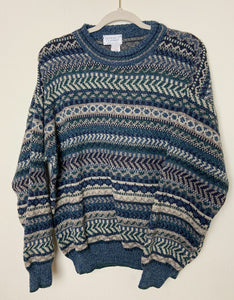 Patterned Wool Sweater