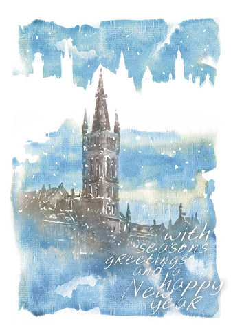 Glasgow University Watercolour