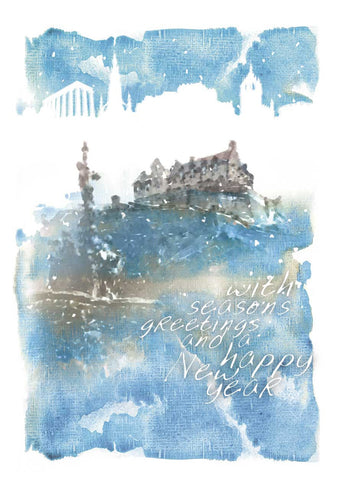 Edinburgh Castle Watercolour