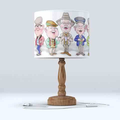 Auld Pals Table/Standard Lamp Shade