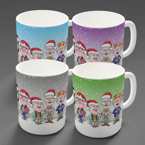 Auld Pals - All Four Christmas - Mug