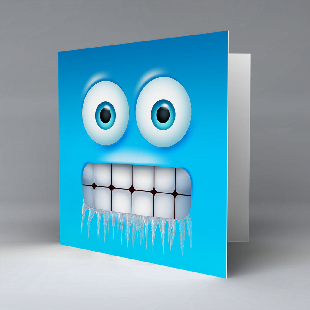 Baltic Emoji - Greetings Card
