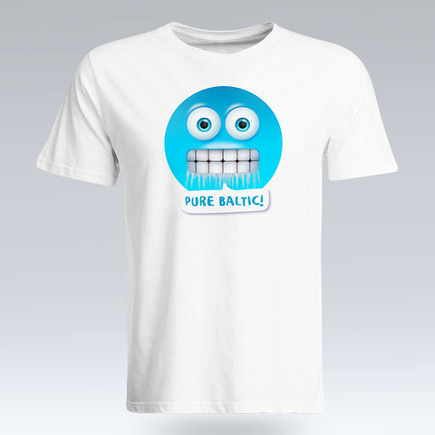 Pure Baltic Emoji Text - T-Shirt