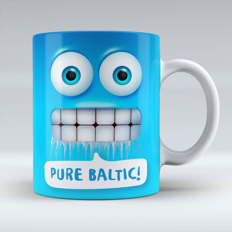 Pure Baltic Emoji Text - Mug