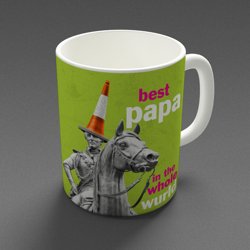 Best Papa in the Whole Wurld - Mug