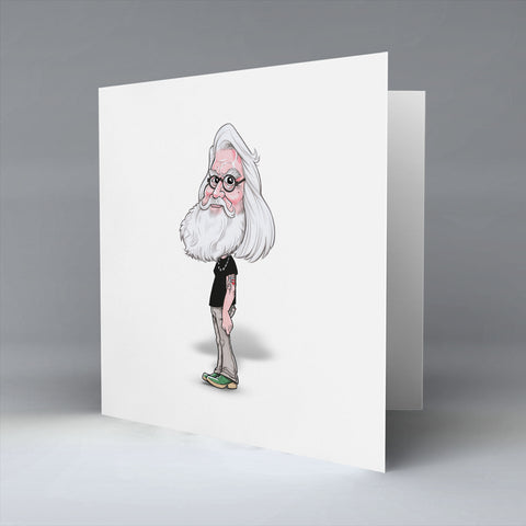 Big Beard Billy - Greetings Card