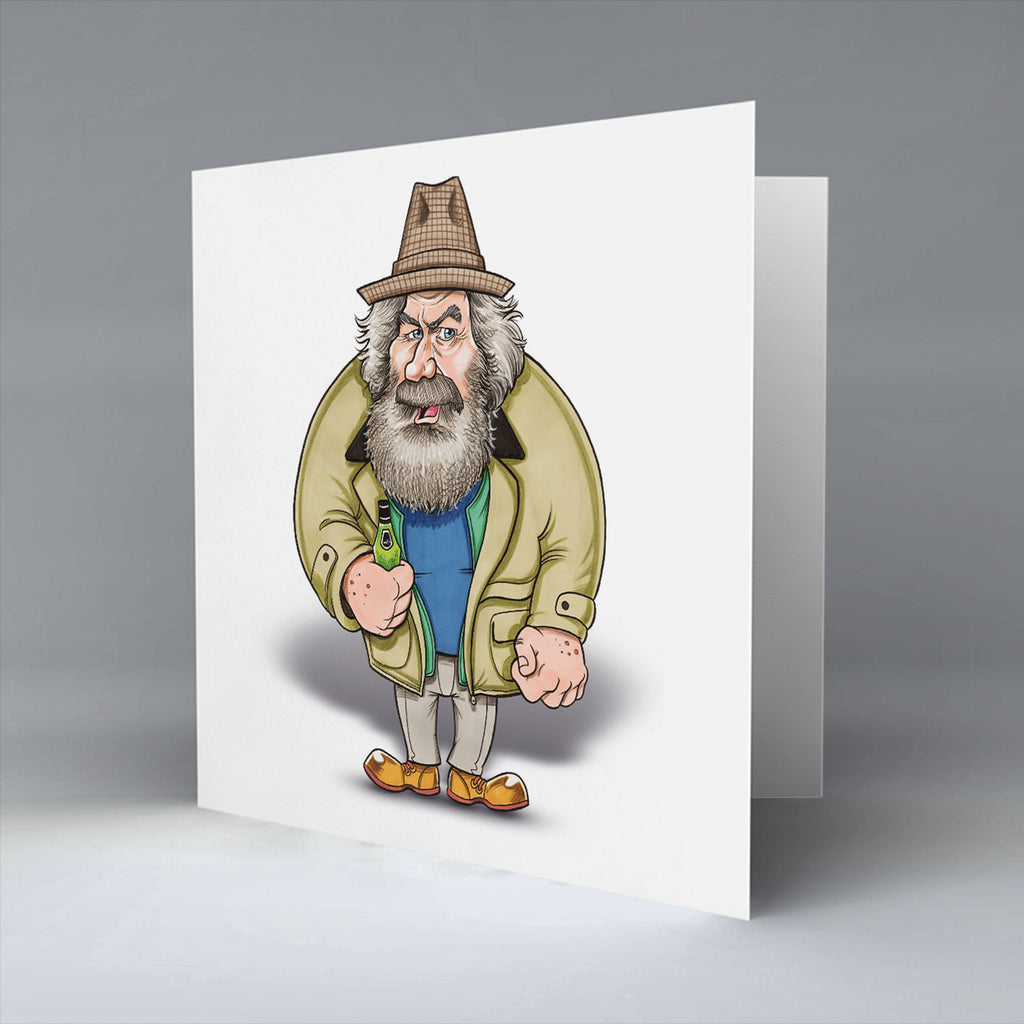 Big Man - Greetings Card
