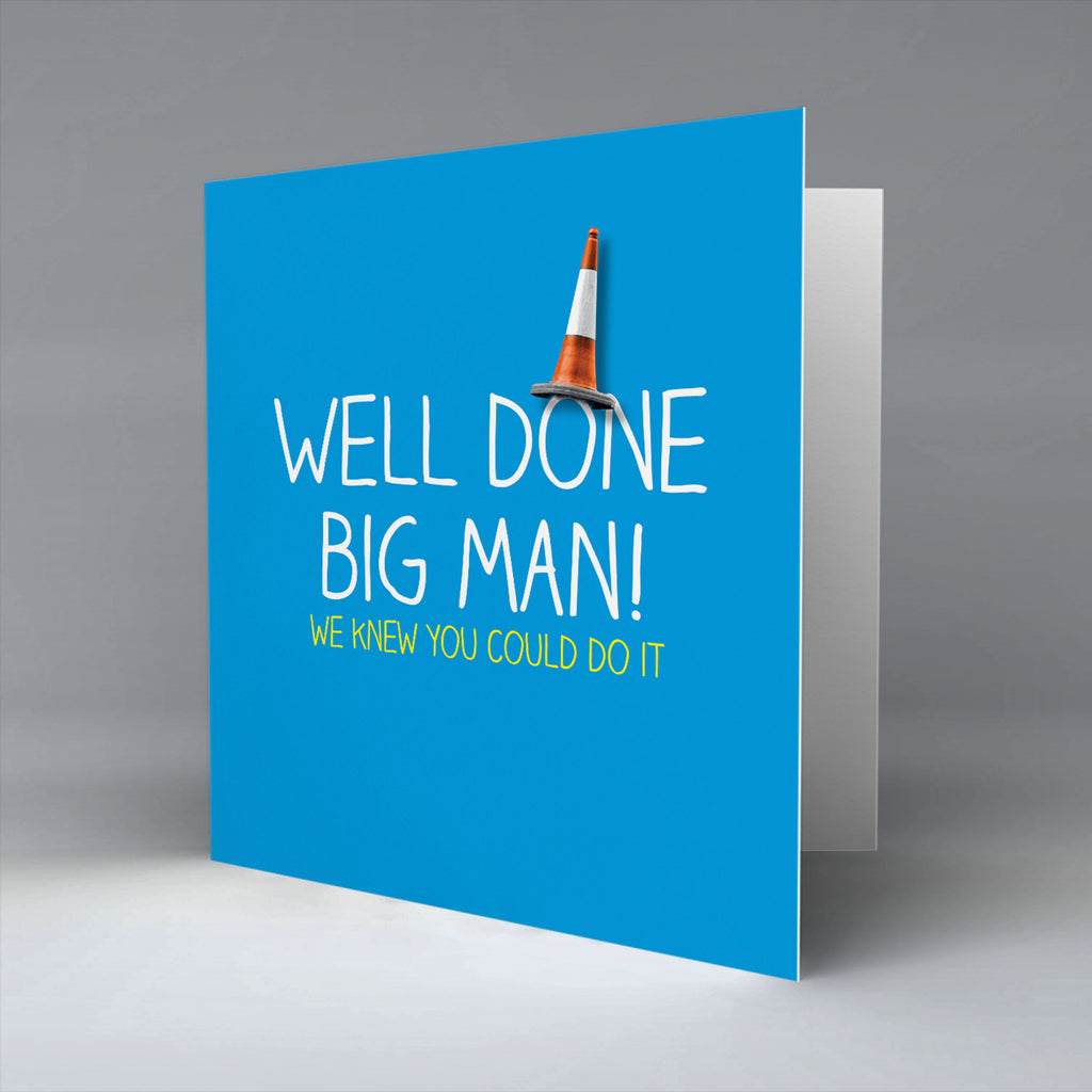 Well Done Big Man!