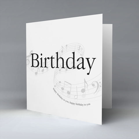 Birthday - Greetings Card