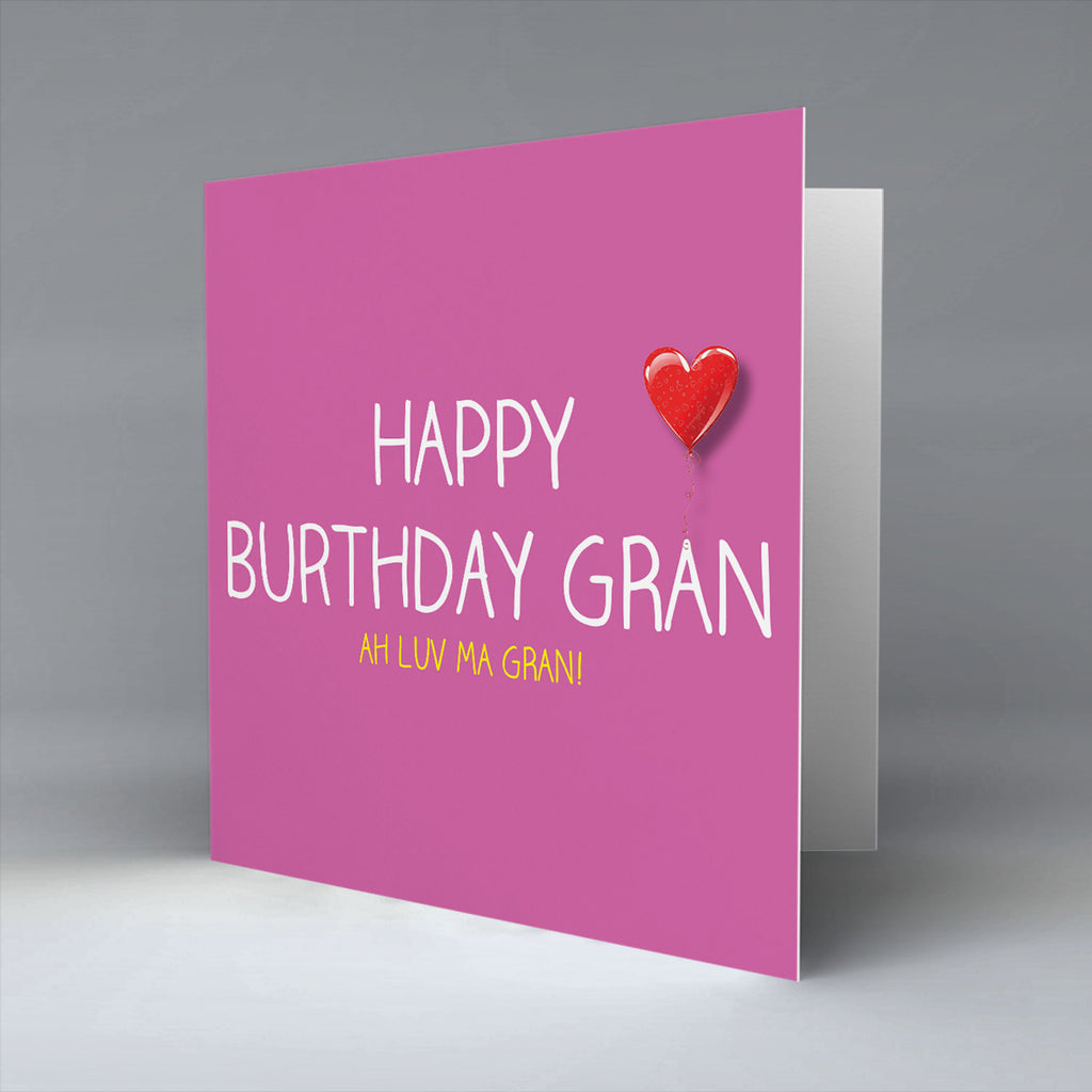 Happy Burthday Gran