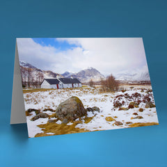 Buchaille Etive Mor and Black Rock Cottage