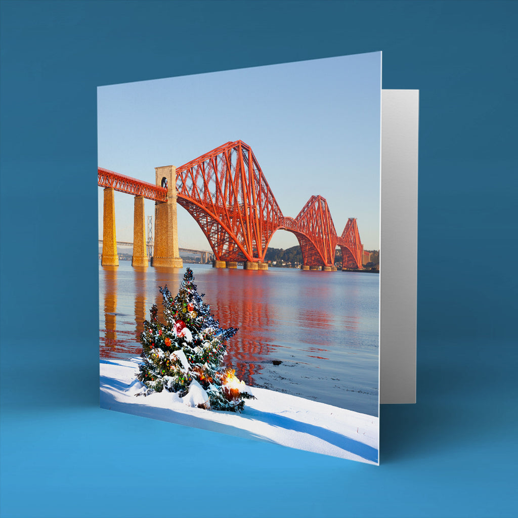Winter at the Forth Bridge