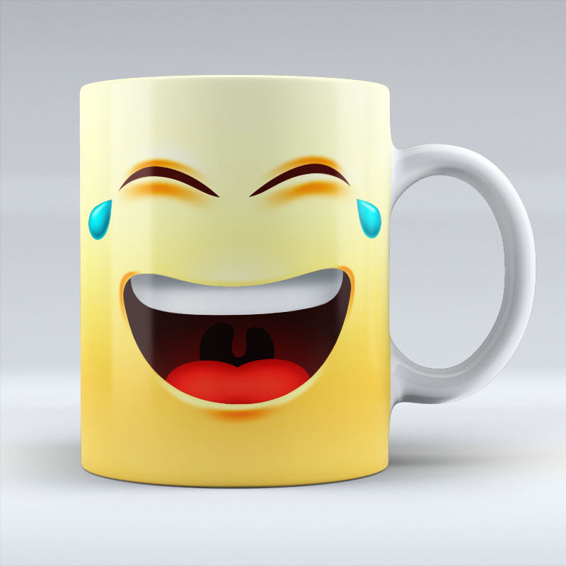 Crying Laugh Emoji - Mug