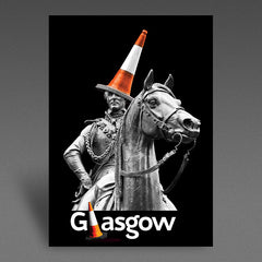 A6 Glasgow Conehat Postcards