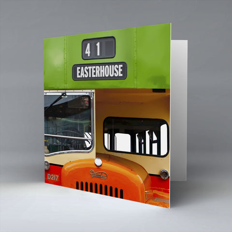 Easterhouse Greetings Card