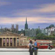 Edinburgh Princes Street Print