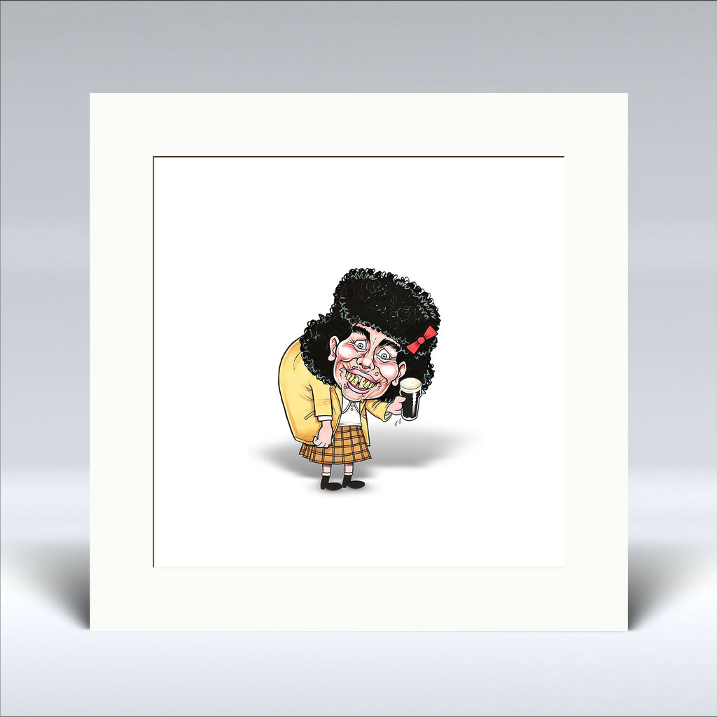 Wee gorgeous! - Mounted Print