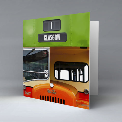 Glasgow Greetings Card