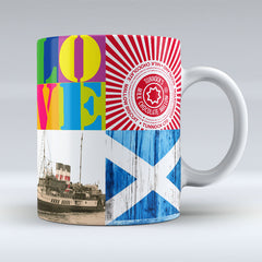 Glasgow Pop Art 3 - Mug