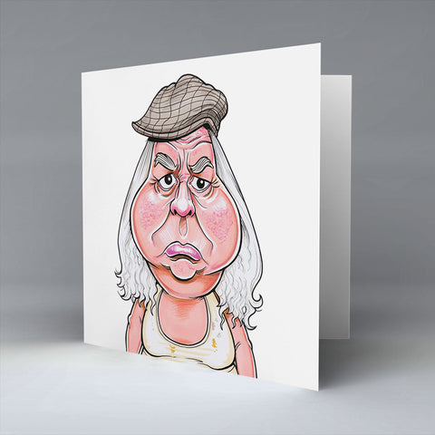 Granda Fecker - Greetings Card