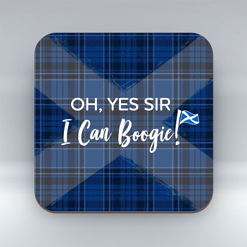 Oh Yes Sir - I Can Boogie - Blue Coaster