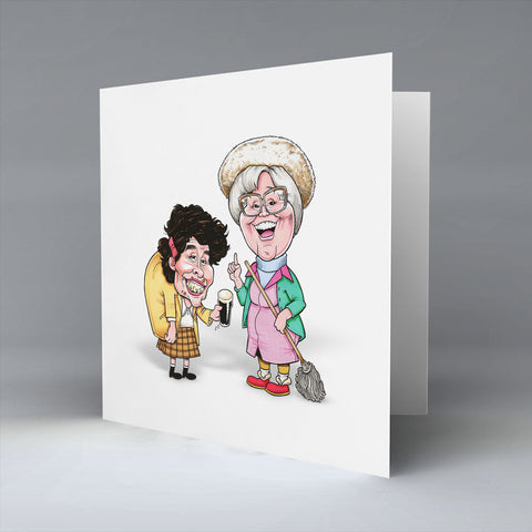 The Auld Burdz Greetings Card