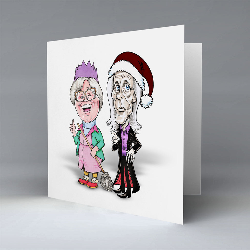 Have ye heard! It's the grim reaper - Christmas Card