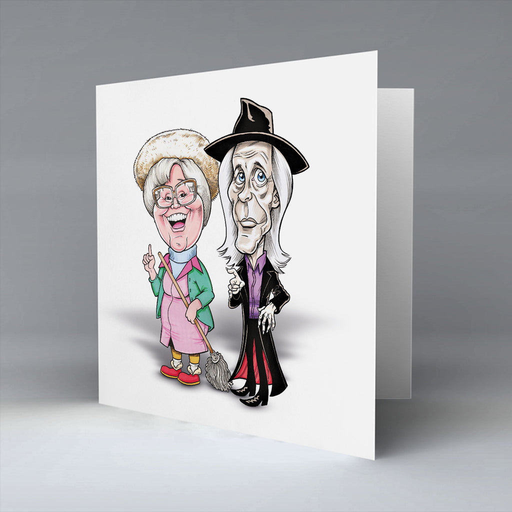 Have ye heard! It's the grim reaper - Greetings Card