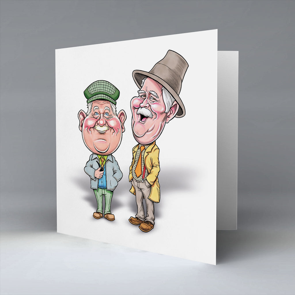 Platinum Auld Pals - Greetings Card