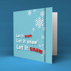 Let it snaw - Christmas Card