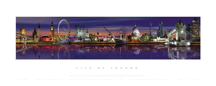 London Night Print