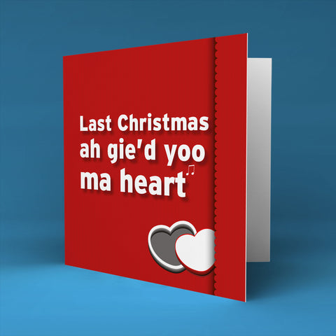 Ma heart - Christmas Card