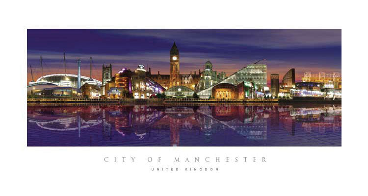 Manchester Night Prints