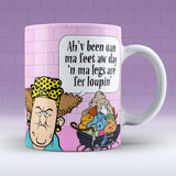 Ma Legs Are Fer Loupin - Mug