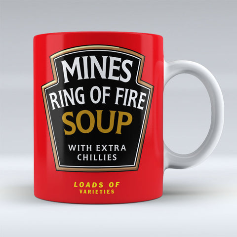 Mines Ring of Fire Soup - Mug