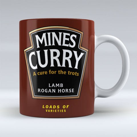 Mines Curry - rogan horse - Mug