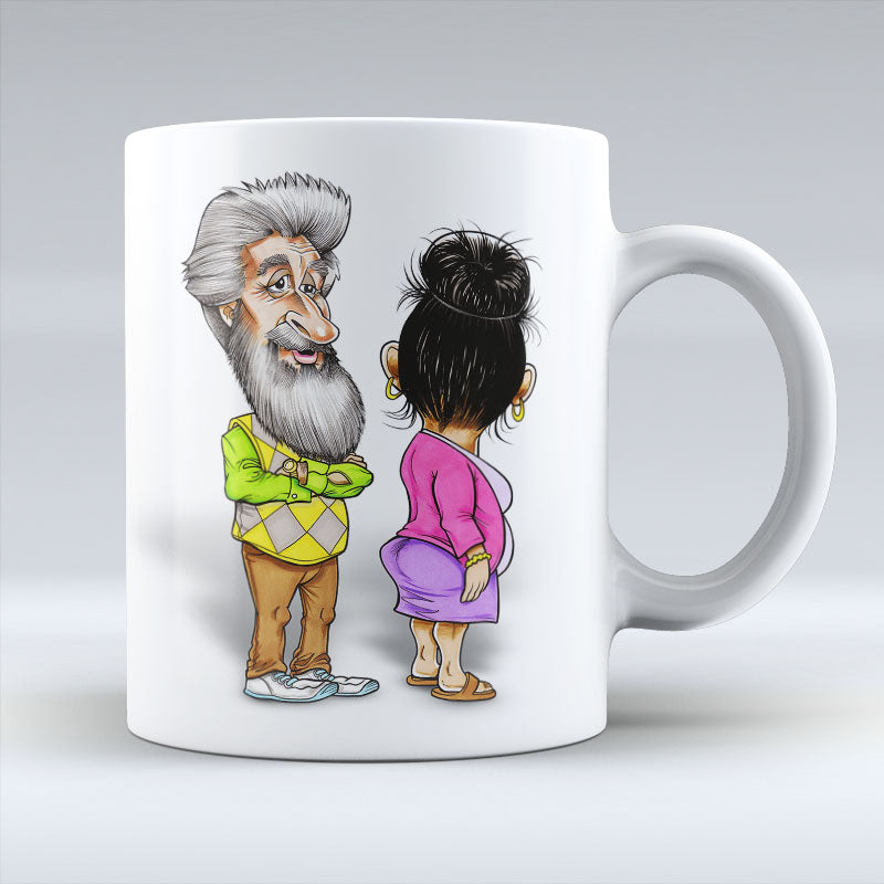 Platinum Mr & Mrs - Mug