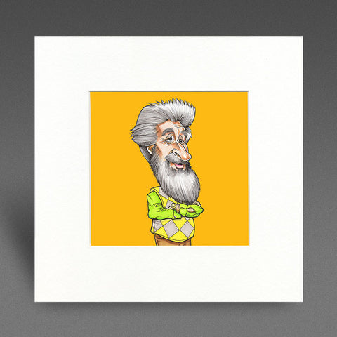 Mister - Colour Mounted Print