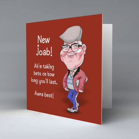 New Joab! - Greetings Cards