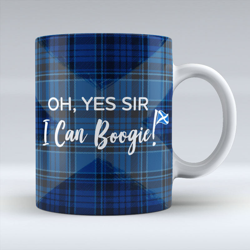 Oh Yes Sir - I Can Boogie - Blue Mug