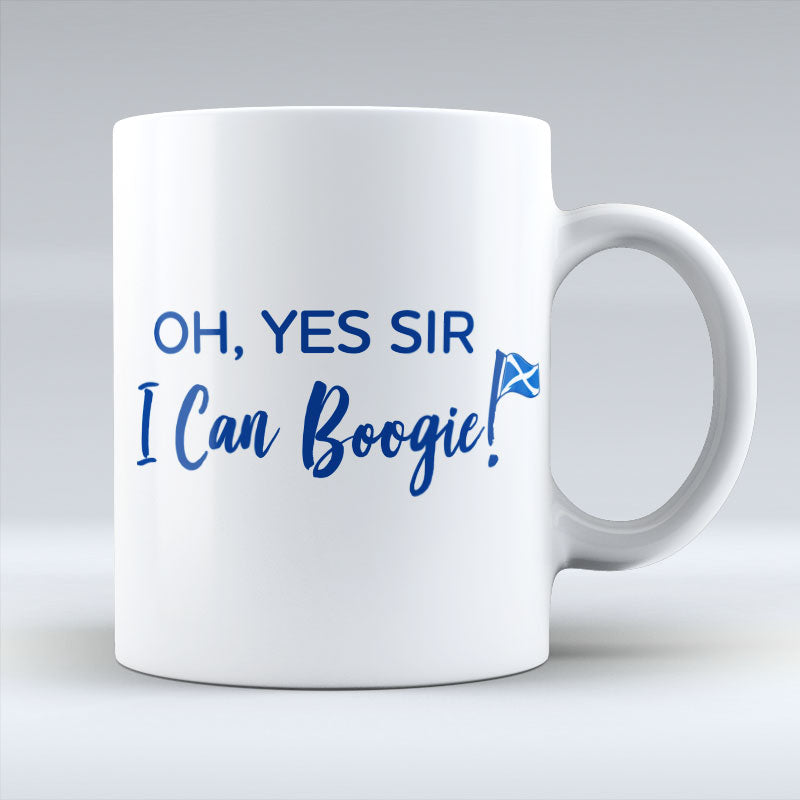 Oh Yes Sir - I Can Boogie - White Mug
