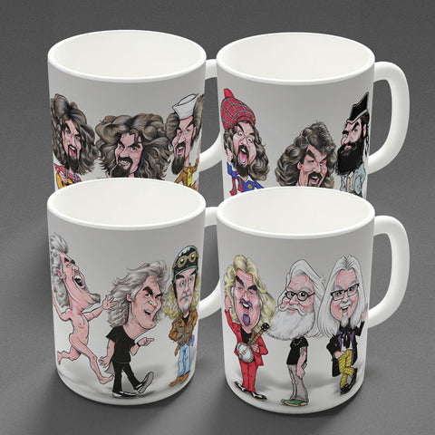 Oor Billy - All Four Eras - Mugs