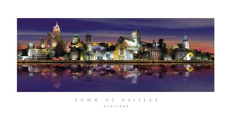 Paisley by Night Print